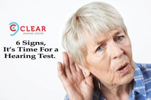 6 Signs of Hearing Loss